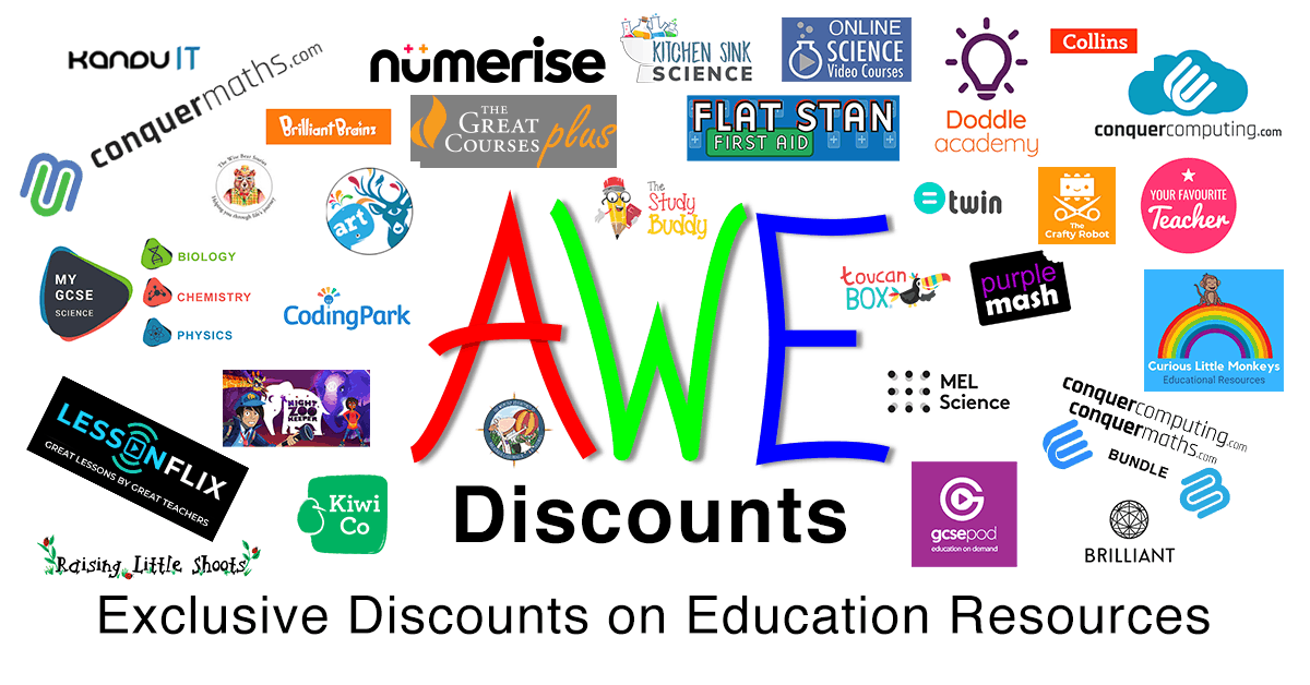Exclusive discounts on education resources