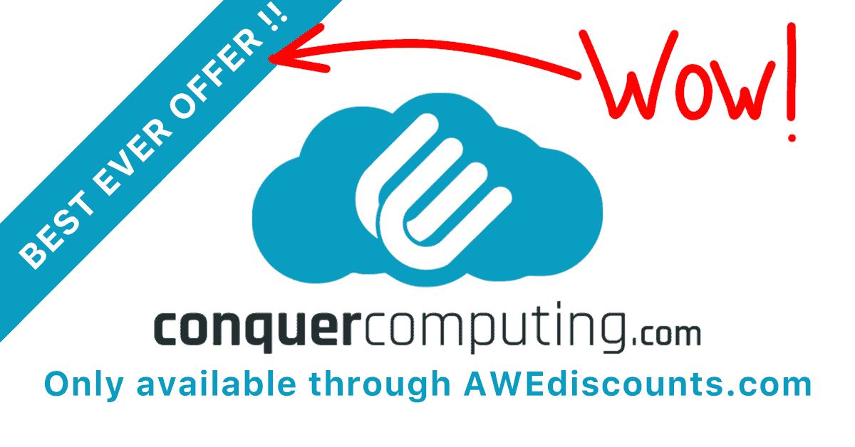 Best EVER ConquerComputing Offer