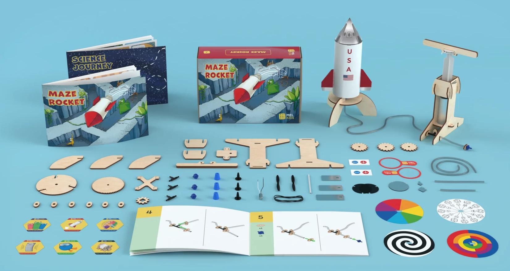 MEL Kids rocket kit