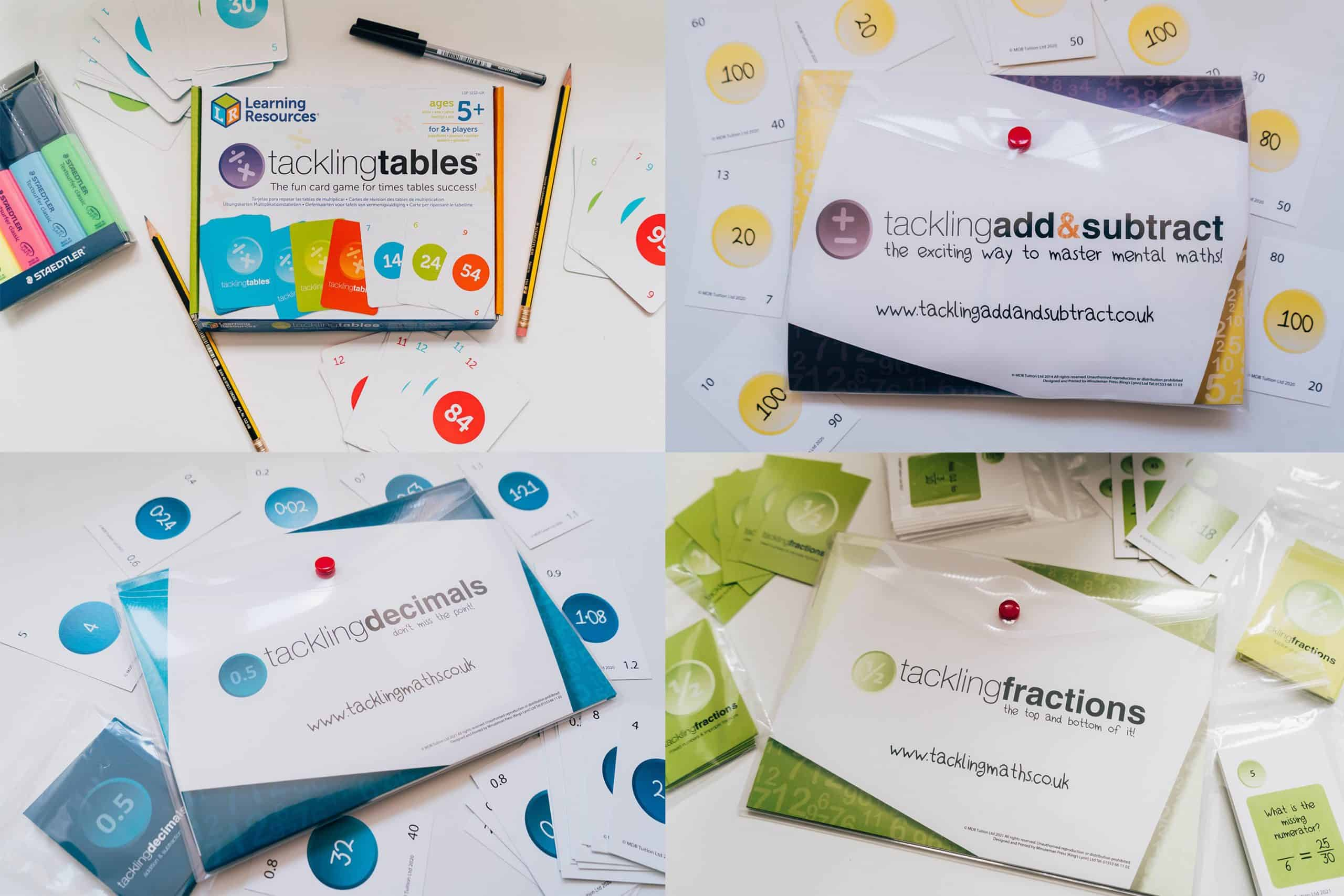 Tackling Tables New Products